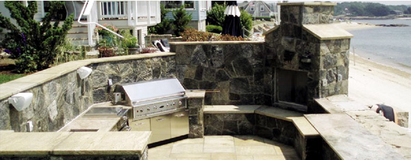 Outdoor Grills And Living, Outdoor Kitchen Design, Outdoor Kitchens,  Outdoor Living