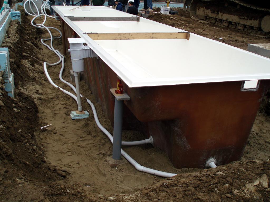Preferred properties landscaping masonry sanjuan for Fiberglass pool installation