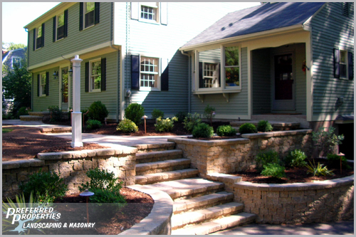 Preferred Properties Landscaping & Masonry: Walls and Walks ...