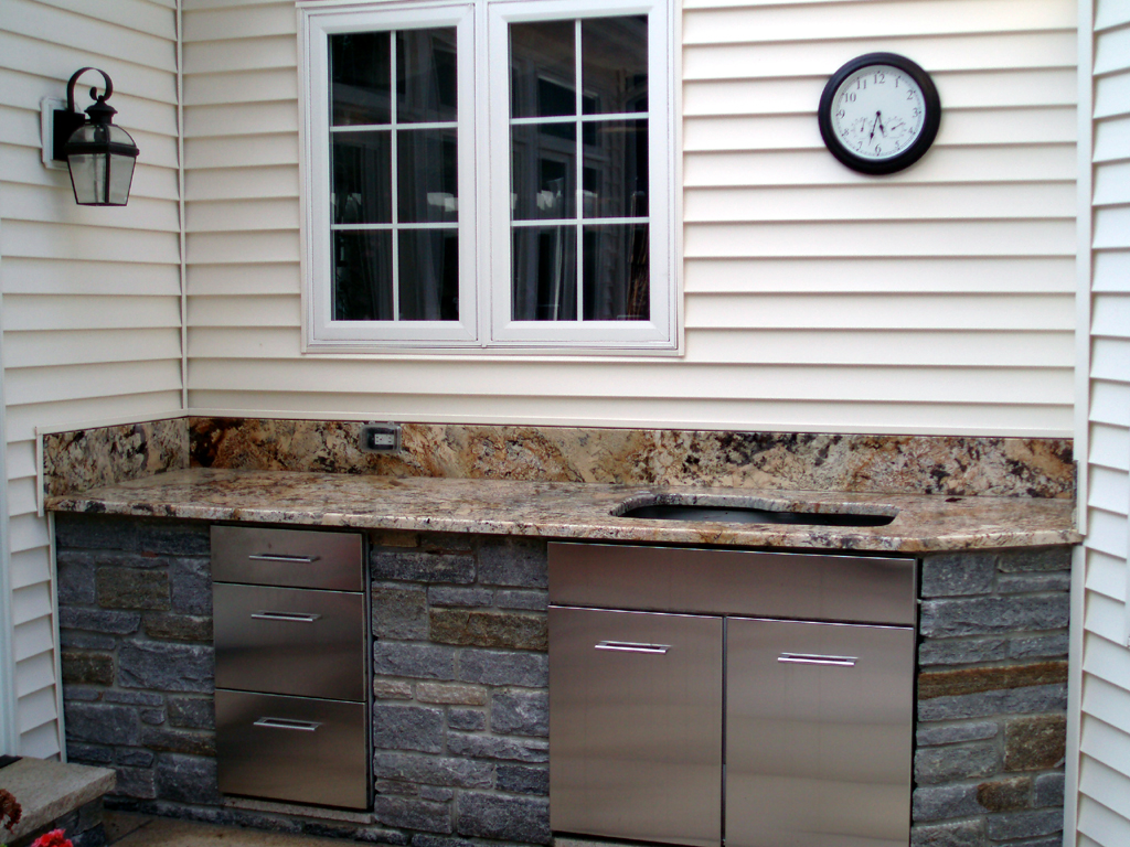 Building An Outdoor Kitchen Preferred Properties Landscaping Masonry Outdoor Living