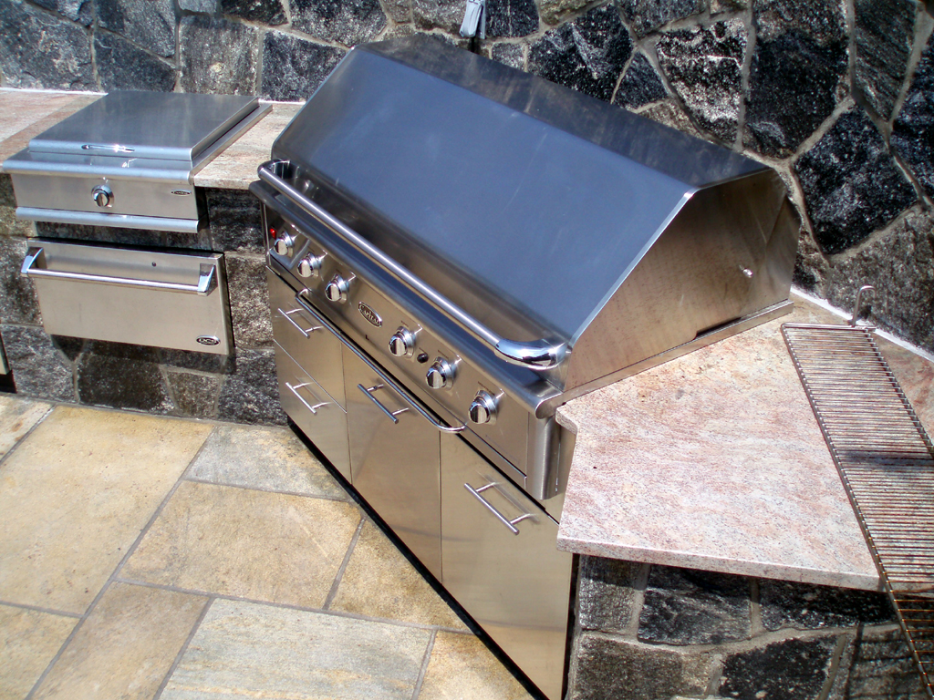 To Build Outdoor Kitchen Preferred Properties Landscaping Masonry Outdoor Living