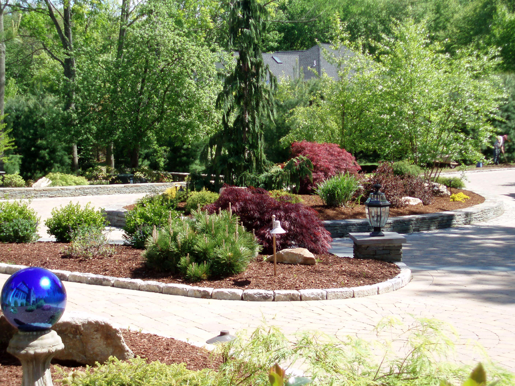 Exterior Landscaping: Preferred Properties Landscaping & Masonry: Nursery